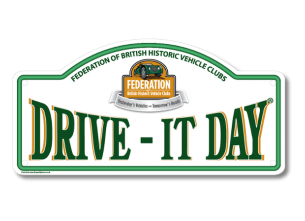 Drive it day 2019 rally plate
