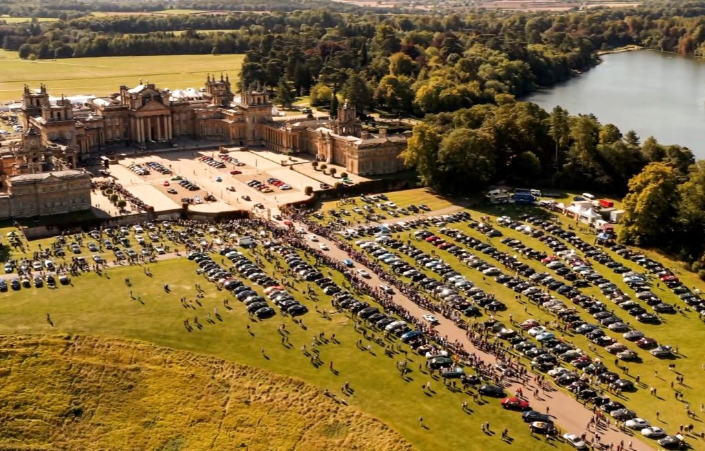 World's Largest Gathering of Bentleys