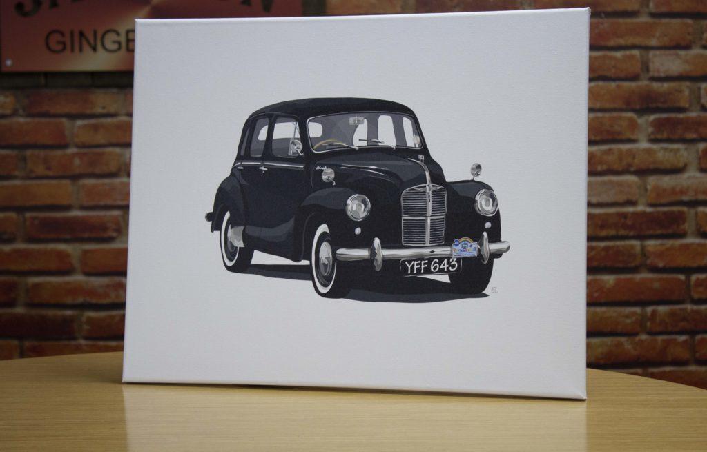 Bespoke Car Illustration Giveaway